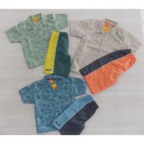Conjunto Infantil Menino Com Camisa Marisol - Super Promoção