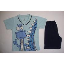Conjunto De Pijama Infantil Tamanho 1 Marca Brandili