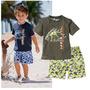 Conjunto Infantil Camisa E Short - Menino