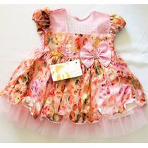 Vestido De Festa Menina Bonita Bebê