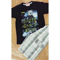 Camisa + Short = Conjunto Infantil Masculino