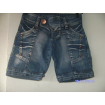 St014 - Short Jeans Da Zipp Manequim 36
