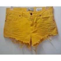 Shorts Rock Blue Color - Feminino