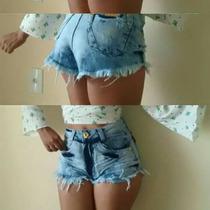 Shorts Jeans Hot Pants, E Customizados