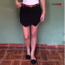 Shorts Saia Assimétrico