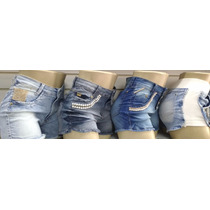 Kit 5 Shorts Jeans Feminino