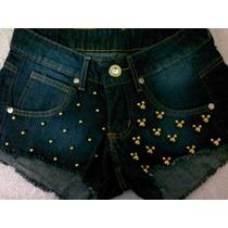 Shorts Feminino Jeans Customizado