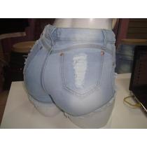 Shorts Jeans Feminino Barato