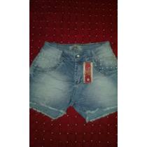 Kit 5 Peç Shorts Jeans Feminino