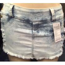 Shorts Saia Plus Size Com Lycra Tam Grandes 44 Ao 54!69,99!!
