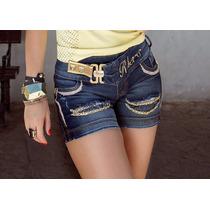 Short Jeans Da Rhero Com Bojo Removível