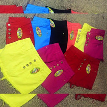 Shorts Cós Alto Hot Pants / Saias Colorida