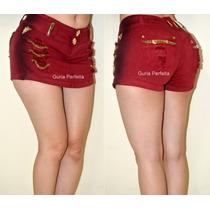 Shorts - Saia Pit Bull Jeans Com Bojo E Frete Grátis!