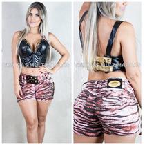 Shorts Rhero Jeans Estilo Pit Bull Jeans Com Modela Bumbum !