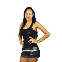 Kit Atacado Shorts Jeans Feminino Curto Desfiado Apenas $130