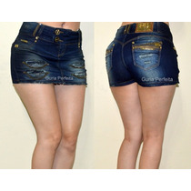 Shorts - Saia Pit Bull Jeans Nova Coleção! Cód. 18959