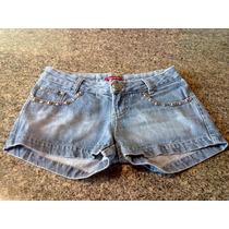 Shorts Jeans Feminino Da Marca Passos De Tigre Tamanho 36