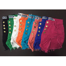 Short Coloridos Hot Pant