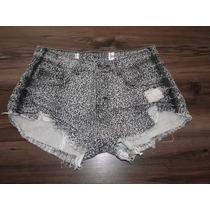 Shorts Oncinha Feminino! Novo