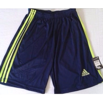 Kit 5 Bermudas Adidas Shorts Calção Treino Corrida Futebol.