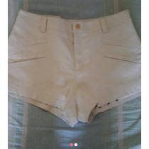 Shorts Hot Pant Couro