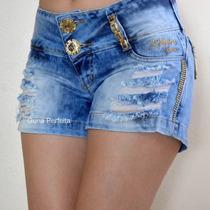 Shorts Rhero Jeans -estilo Pit Bull Jeans Com Bojo Removivel