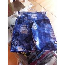 Shorts Jeans Ginastica Academia Barato Fitness Bermuda