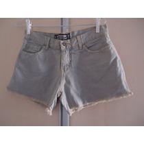 Shorts Jeans Feminino 38 Hands Off Usado