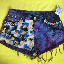 Shorts Jeans Tie Dye