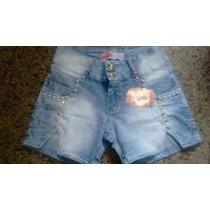 Kit 3 Peç - Shorts Jeans Feminino