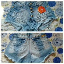 Short Jeans Estylo Anitta