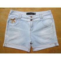 Shorts Jeans Feminino For Girls Tam 46 G