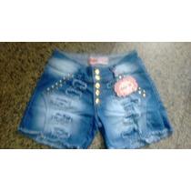 Short Jeans Customizado Detonado