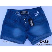 Shorts Jeans Femininos Grifes Div Mescladas 34/48 - 10 Peças