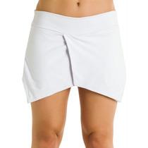 Short Assimétrico Branco