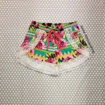 Plus Size - Shortinho Boxer Com Renda Feminino