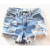 Short Jeans Destroyed Customizado