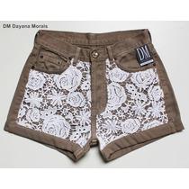 Hot Pants Renda Guipir - N° 38