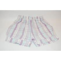 Shorts Lilás Xadrez - Pulla Bulla- Tam. 1