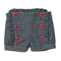 Shorts Jeans Feminino Gymboree - Tam Rn