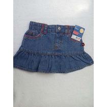 Saia Jeans Com Calcinha Embutida Na Peça Carter