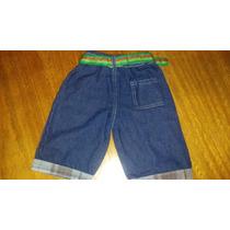 Shorts Jeans Infantil Bebe