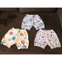 Shorts Para Bebê Em Malha Estampada - P M G Gg