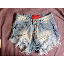 Short Jeans Hotpant Cintura Alta - Frete Grátis! Mega Oferta