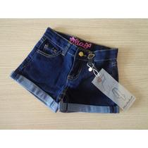 Short Lilica Ripilica Jeans Original Frete Grátis