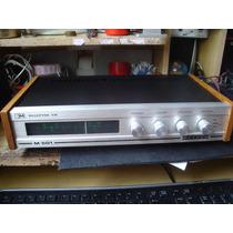 Receptor Fm Maxsom M501 Amplificador Receiver Antigo Vintage