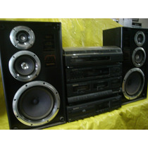 Conjto De Som Gradiente Ds-600 C/ Vinil+cd+cxs - Impecavel.