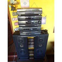 System 4 Em 1 Sony Lbt 390 Toca Discos / Cd / Tuner / Tape