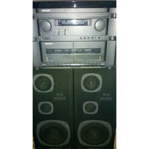 Som Philips As125 Toca Discos