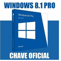 Windows 8 / 8.1 Pro 32 / 64 Bits - Portugês - Chave Original